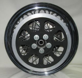 Harley Davidson Stock 40 Spoke Rear Wheel 16x300 D Chrome is in Good