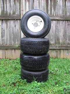Used Golf Cart Tires Wheels 4 E Z Go Club Car Yamaha