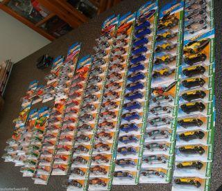 2011 Treasure Hunt Lot of 126 Hot Wheels Treasure Hunts L K