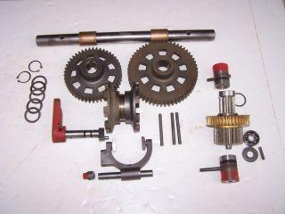 Troy Bilt Horse Transmission Wheel Shaft Pinion Shaft Assembly