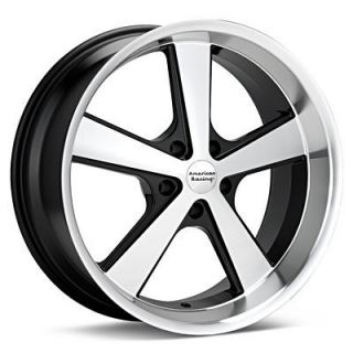 2012 Camaro LS Lt Black 18x9 American Racing Rims Wheel 5x120