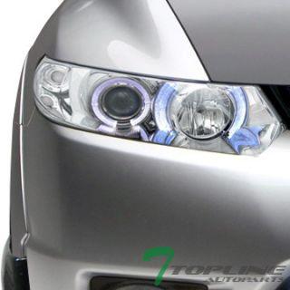 JDM Chrome Halo Rims Projector Headlights Parking Signal 06 11 Civic