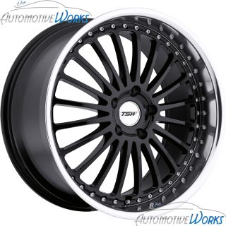 Silverston 5x120 35mm Gloss Black Mirror Rims Wheels inch 19