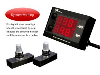 Orange Electronics Motorcycle Tire Pressure Monitoring System TPMS