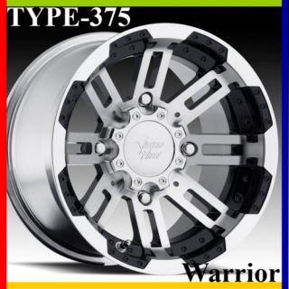 14X7 4x110 4 3 Vision Warrior Aluminum ATV Rim Wheel