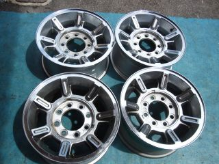 17 H2 Hummer Wheels Rims Chrome GM HD2500 8 Lug