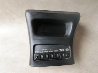 97 Ford Explorer Info Fuel Reset System Oil Change Display Screen