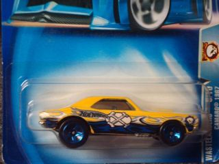 Hot Wheels 2003 Wastelanders Series Yellow 67 Camaro 168