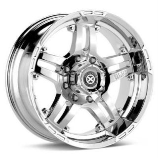 16 inch ATX Artillery Chrome Wheels Rim 5x135 Ford F150