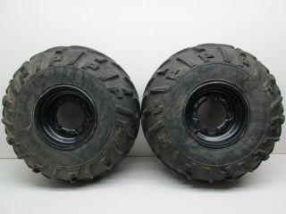 00 Polaris Sportsman 500 4x4 Rear Wheels Tires Rims