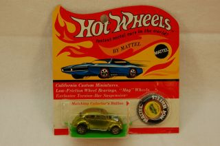 Hot Wheels Redline Custom VW Lime BP RARE WOW