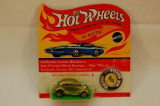 Hot Wheels Redline Custom VW Lime BP RARE WOW