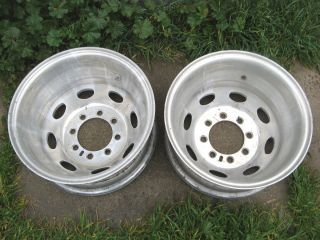 16 Weld Racing Dually Wheels Rims Chevy Ford Dodge 1 Ton Truck 3500