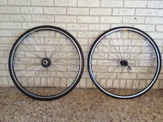 Custom Built Mavic Open Pro Rims with DT Swiss 240 Hubs and Dura Ace