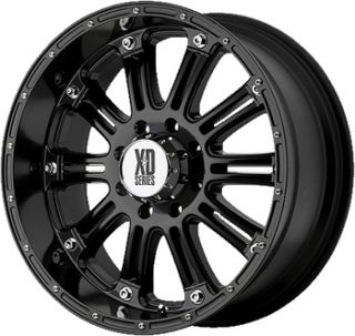 20 Black Wheels Rims XD XD795 6x135 Ford F 150