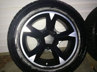 Ford F150 Wheels Rims and Tires Truck KMC674 Falken Ziex All Season