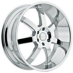 24 inch Menzari Z09 Chrome Wheels Rims 6x139 7 Silverado Taho Yukon