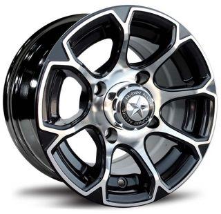 Fairway Alloys 10 x 7 FA133 FA 133 EVO Golf Cart Car Rim Wheel