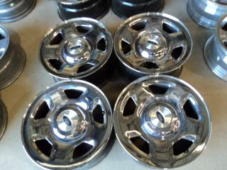 Factory 04 08 Ford F150 Chrome Steel Wheels 6x135