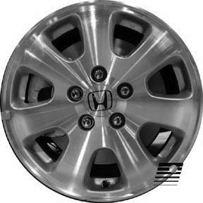 Refinished Honda Odyssey 2002 2004 16 inch Wheel Rim