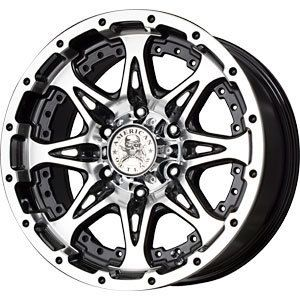 New 16X8 8x170 American Outlaw Black Wheels Rims 8 Lug Ford F250 F350