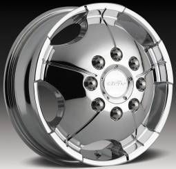 19 Driv Don Duallie Dually 8x170 Front Chrome One Single Replacement