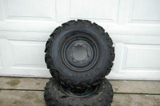 Polaris Ranger RZR Front Wheels Tires