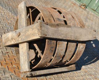 Original NOS Set Fairbanks & Morse Gas Engine Hit & Miss Truck Wheels