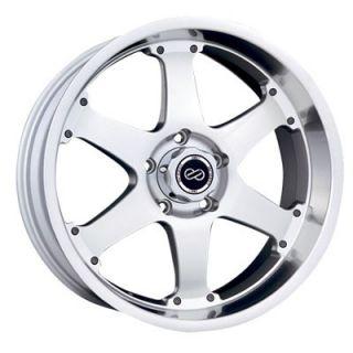 Enkei RT6 Silver Machined 17x8 5x139 7 0 Truck Series Wheel Rim