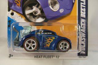 2012 Hot Wheels #151 Volkswagen BEETLE CUSTOM Super Treasure HUNT w