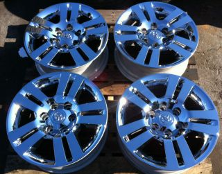 2012 Toyota TRD Tacoma Chrome Clad Rims Wheels 4Runner Tundra