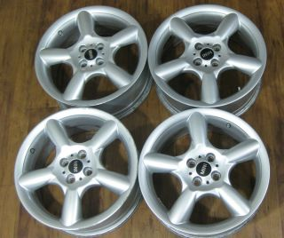OEM Factory Mini Cooper Clubman S 17 17 17in Wheels Rims Silver 5 Spk