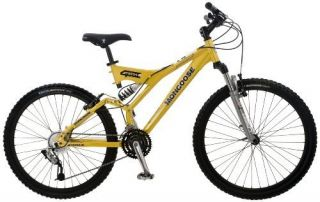 Tech 4 Mens Dual Suspension Mountain Bike 26 inch Wheels Free