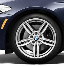 BMW F10 5 Series Genuine M Double Spoke Wheels 351 19