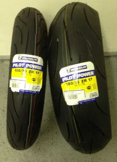 Power Motorcycle Tires Sz Front 120 70 R17 Rear 180 55 R 17