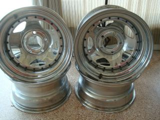 15 x 8 Chrome Wheels GM Bolt Pattern Set of 4 Wheels