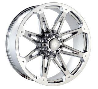 22 Chrome Rims Tires 8x170 Ford 8 Lug F250 Excusrsion