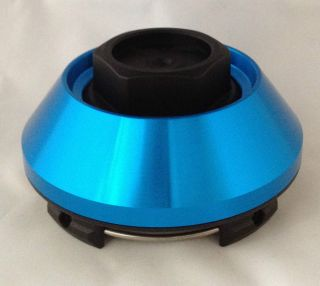 EAGLE ALLOYS WHEEL RIM CENTER CAP ACC 3124 00 BLUE SNAP IN 166 169 193