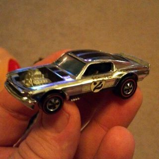Red Line Hot Wheels Mustang Boss Hoss Club Car Nice