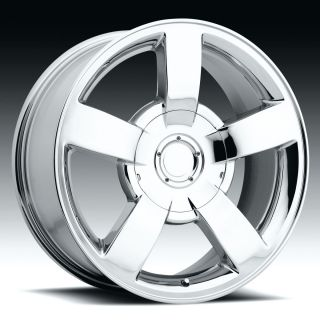 Chrome Wheels 20 Chevrolet Chevy SS Silverado Tahoe Suburban 1500 6
