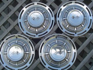1959 Chevrolet Impala Hubcaps Wheel Covers Center Caps Antique Vintage