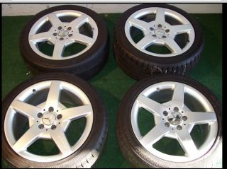17 Mercedes AMG Wheels and Tires SLK CLK C230 C320 C240 CLK320 CLK350