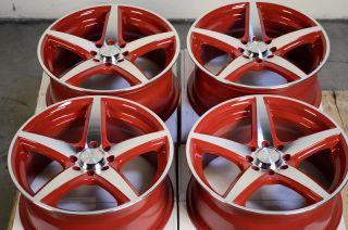 4x108 Effect Rims Black Ford Focus Fiesta Mercury Jetta Alloy Wheels