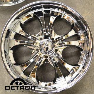 Set 4 Boss 304 20 Chrome Wheels Rims Chevrolet GMC