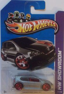 2013 Hot Wheels HW Showroom Volkswagen Golf GTI Col 177 Silver Version