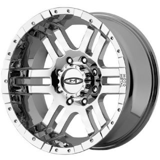 20 Moto Metal 951 Chrome Wheels 8x170 Ford F250 F350