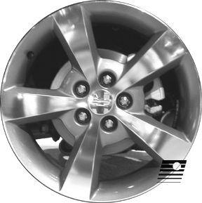 Chevrolet Malibu 2008 2009 17 inch Used Wheel Rim