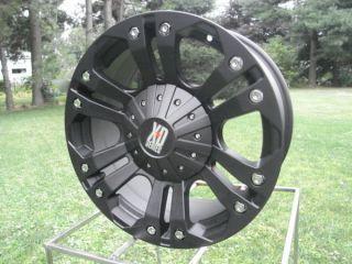 778 KMC XD Monster Wheels 18x9 Ford 150 07 12 Jeep Wrangler Dodge 150