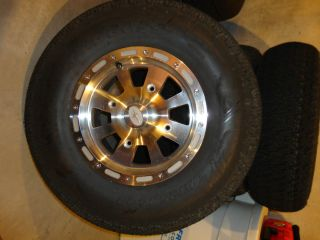 Polaris Ranger Wheels and Turf Tires