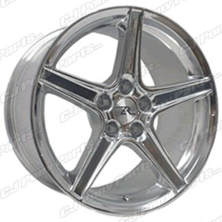 1994 2004 Mustang Saleen Style Chrome 18x9 Wheel Rim